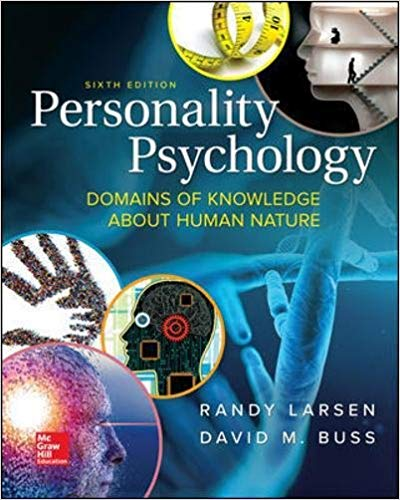 Personality Psychology: Domains of Knowledge About Human Nature 6th Edition