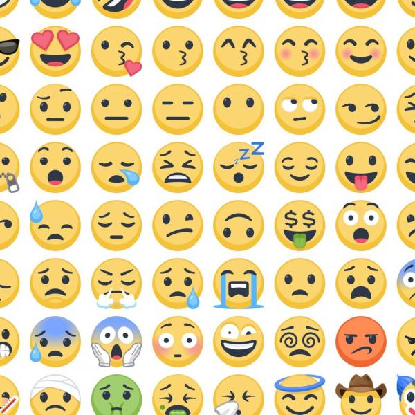 emojis used on Facebook
