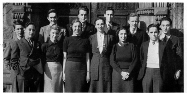 old photograph of students